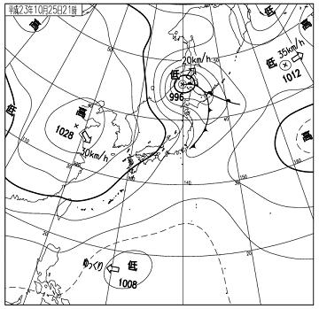 天気図 11102521
