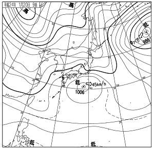 天気図 12012009