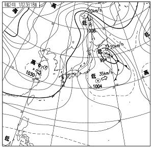 天気図 12012318