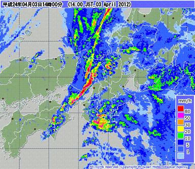 気象レーダー 201204031400-00