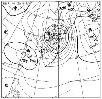 天気図 12040321