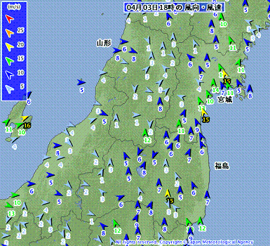 東北南部の風 201204031800-00