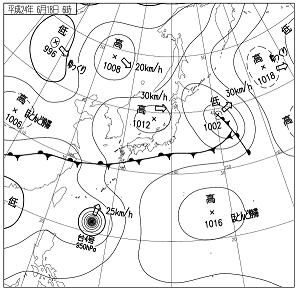 天気図 12061806
