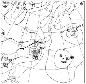 天気図 12061906