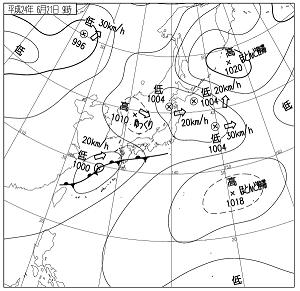 天気図 12062109
