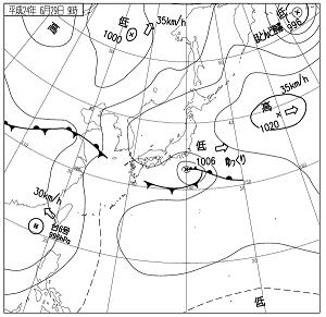 天気図 12062909