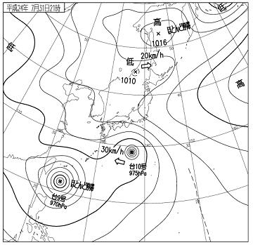 天気図 12073121
