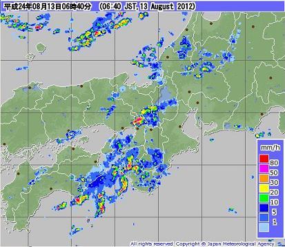気象レーダー 201208130640-00