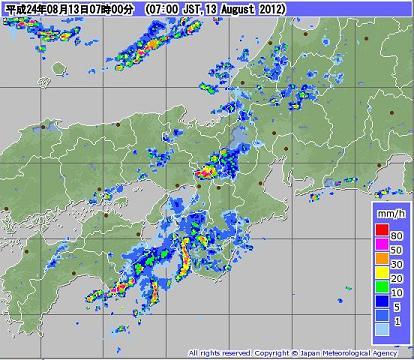 気象レーダー 201208130700-00