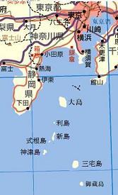 伊豆諸島地図 c