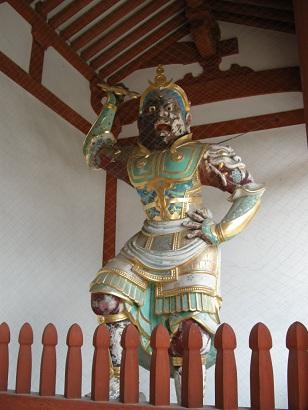 薬師寺中門二天王像(吽形)