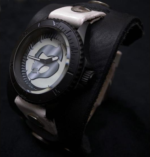 SRW仮面ライダースカル腕時計×レッドモンキーコラボ