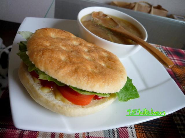 野菜サンド。