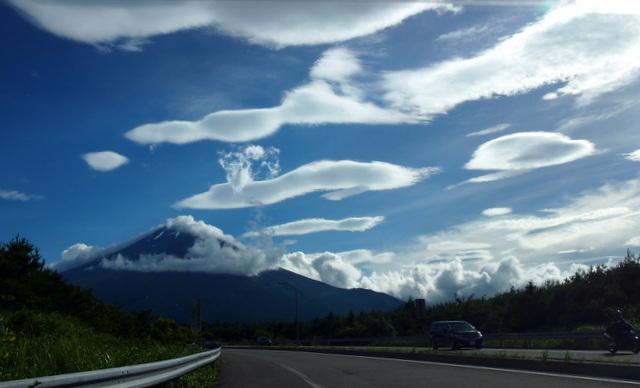 夏の富士山 絶景!
