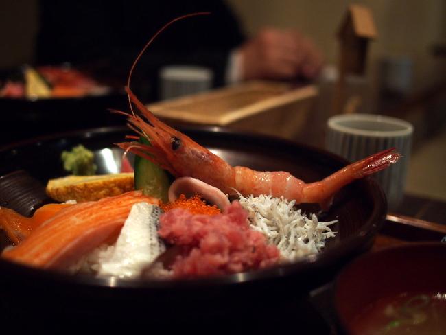 海鮮丼 おいしそ!