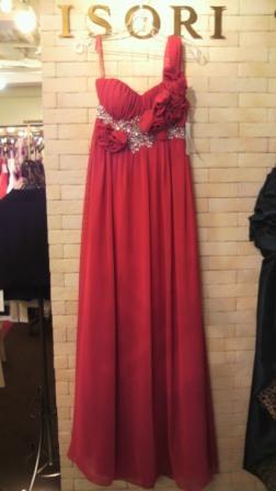 赤ドレス実物