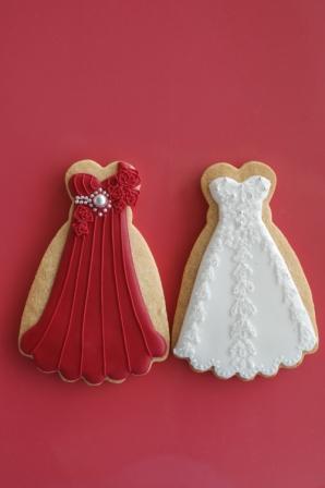 紅白ドレス