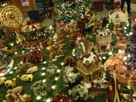 クリスマスジオラマ