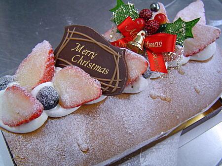 ラ・ミア・ヴィータのクリスマスケーキその1