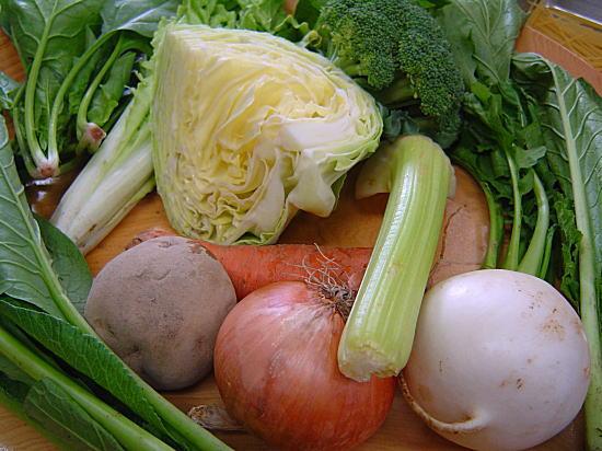 旬のお野菜は自然栽培のものを使っています