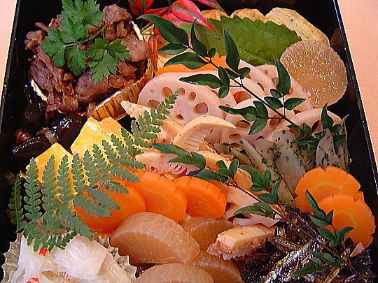 ラ・ミア・ヴィータ特製おせち料理