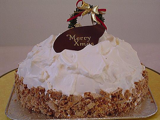 ラ・ミア・ヴィータ特製ドーム型クリスマスケーキ