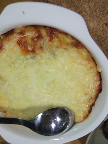 マッシュポテトのチーズ焼き
