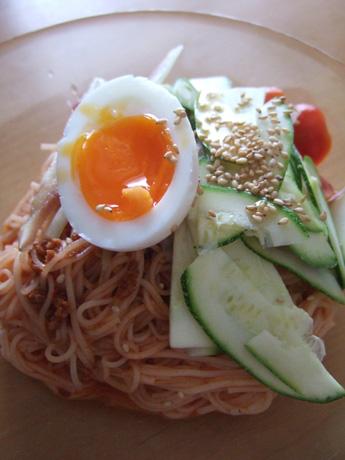 ビビン麺風素麺