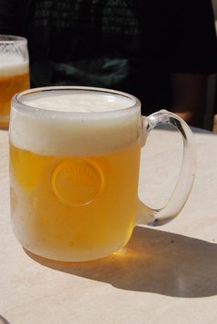 ランチビール♪