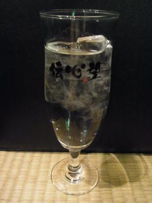 オリジナルお冷グラス