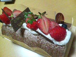 1周年お祝いケーキ