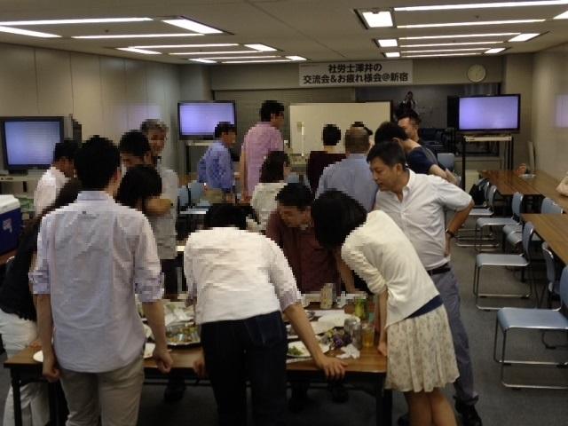 澤井清治クラス交流会 グループワーク
