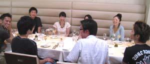 8月食事会