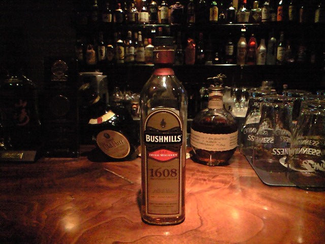 ブッシュミルズ1608 400周年記念ボトル