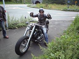 伴ちゃんバイク