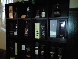 ウイスキー棚