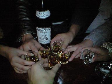 皆で乾杯!