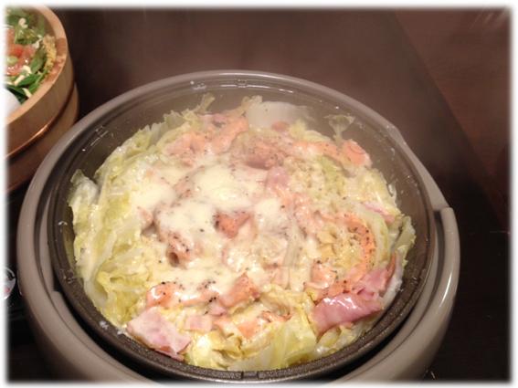 白菜チーズ鍋241229