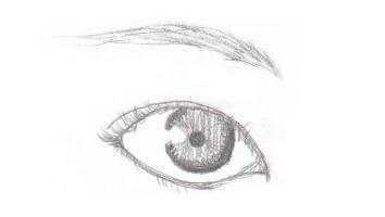 目を描く訓練