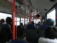 初めてのバス