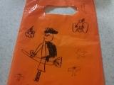 手描きのお菓子袋♡