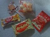 小袋の菓子もハロウィン仕様☆