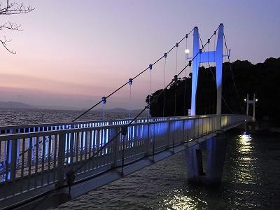 橋ライトアップ