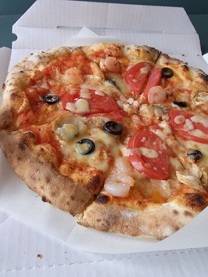 海の幸ピザ