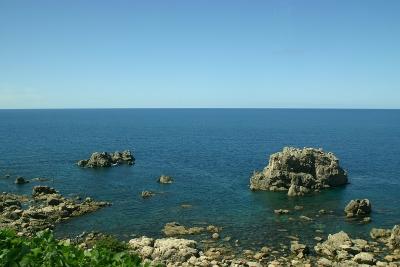 日本海のきれーな景色