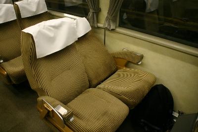 ドリームカー座席