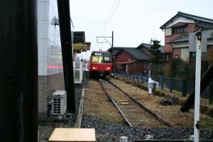 玉ノ井駅端