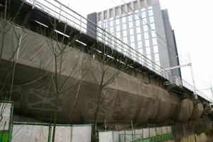 並木橋駅跡