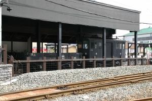動態保存中の機関車