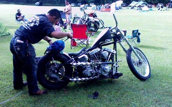 S兄弟・兄とバイク